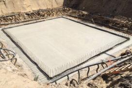 Betonwerk keldervloer te Joppe door Hectar uitgevoerd