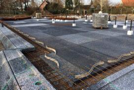 Hectar vloer van 700 m2 in Aalten gelegd