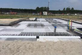 EPS bekistingsvloer Almere klaar voor de stort
